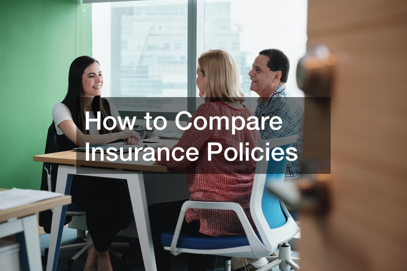 How to Compare Insurance Policies